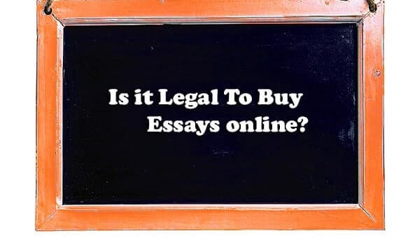 Is It Legal To Buy Essays