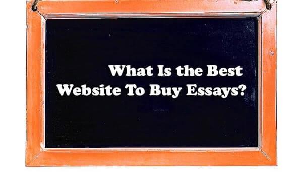 Best Website To Buy Essays
